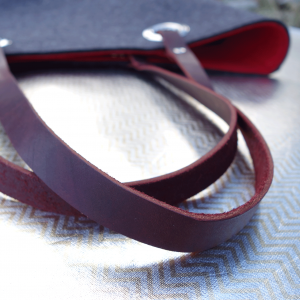 Harness Leather Strap detail - JijiBags